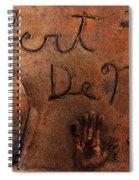 Hollywood Chinese Theatre Robert De Niro 5d29011 Spiral Notebook