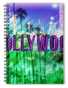 Hollywood Day And Night Spiral Notebook