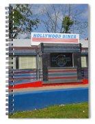 Hollywood Diner Spiral Notebook