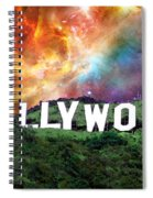 Hollywood - Home Of The Stars By Sharon Cummings Spiral Notebook