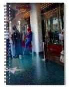 Hollywood Super Heros Spiral Notebook