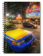 Hollywood Taxi Spiral Notebook