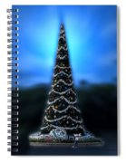 Hollywood Xmas Tree Walt Disney World Spiral Notebook