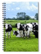 Holstein Heaven Spiral Notebook