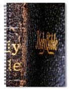 Holy Bible Spiral Notebook