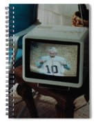 Holy Cow Phil Rizzuto Retired Yankee Number On 08 04 1985 Spiral Notebook