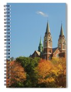 Holy Hill In Living Color Spiral Notebook