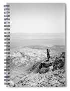 Holy Land Dead Sea, C1910 Spiral Notebook