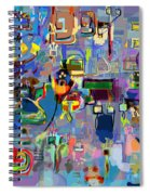 Holy Letters 1x Spiral Notebook