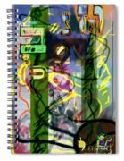 Holy Letters 2c Spiral Notebook