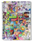 Holy Letters 3 Spiral Notebook