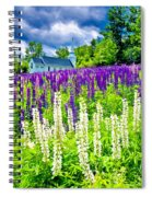 Holy Lupines Spiral Notebook