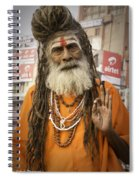 Holy Man Spiral Notebook