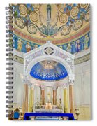 Holy Mary Spiral Notebook