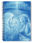Holy Night Spiral Notebook