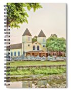 Holy Rosary Church Spiral Notebook