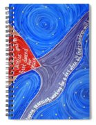 Holy Woman Icon Spiral Notebook
