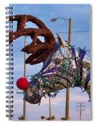 Holyday Horse Spiral Notebook