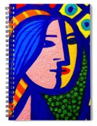Homage To Pablo Picasso Spiral Notebook