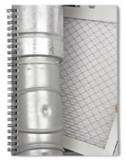 Home Air Filter Replacement Spiral Notebook