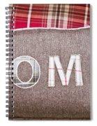 Home Cushion Spiral Notebook