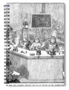 Home Economics Class, 1886 Spiral Notebook