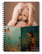 Home For A Bunny 1 Spiral Notebook
