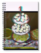 Home For The Holidays - Use Red-cyan 3d Glasses Spiral Notebook