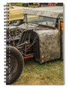 Home Made Muscle Spiral Notebook