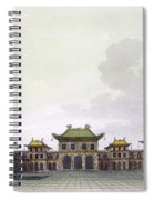 Home Of A Rich Individual In Peking Spiral Notebook