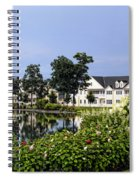 Home On The Golf Course Spiral Notebook