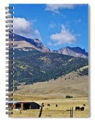 Home On The Range - A Westcliffe Ranch Spiral Notebook