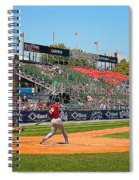 Home Run Or Struck Out Spiral Notebook