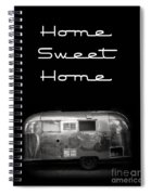 Home Sweet Home Vintage Airstream Spiral Notebook