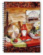 Home Sweet Home Welcoming Five Spiral Notebook