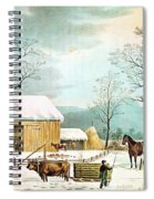 Home To Thanksgiving Spiral Notebook