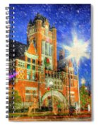 Home Town Christmas Spiral Notebook