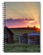 Home Town Sunset Spiral Notebook