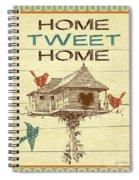Home Tweet Home Spiral Notebook