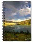 Homeground Rainbow Landscape Spiral Notebook