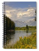 Homeground Waters Landscape Spiral Notebook