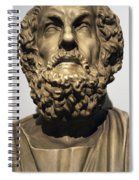 Homer  Spiral Notebook