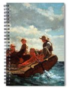 Homer's Breezing Up -- A Fair Wind Spiral Notebook
