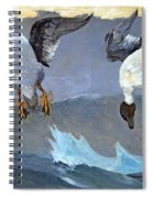 Homer's Right And Left Spiral Notebook