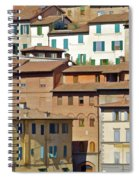 Homes In Cortona Spiral Notebook
