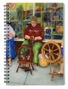 Homespun Fun Spiral Notebook