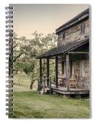 Homestead At Dusk Spiral Notebook