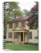 Homestead In Colonial Williamsburg Spiral Notebook