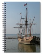 Homesteaders Sailing Ships Spiral Notebook