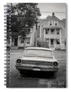 Hometown Usa Platium Print Spiral Notebook